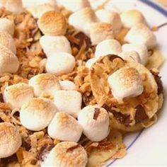 """Dessert Nachos 
