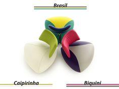 """Die Entwürfe tragen Namen wie """"Caipirinha"""" und """"Biquini"""""""