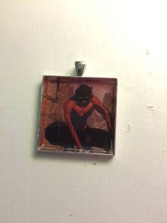 Nightwing Pendant by TheGeekForge on Etsy