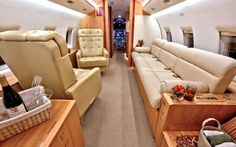 Bombardier Challenger 604 for sale Private Jet Interior, Contemporary Cabin, Used Aircraft, Private Jets, Rich Girl, Flight Attendant, Vip, Geek, Training