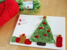 Yarn Tree   Holiday Crafts | Everywhere - DailyCandy