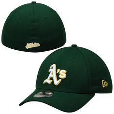 the latest fc20a f7973 Oakland Athletics New Era Team Classic Road 39THIRTY Flex Hat - Green