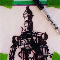 Working on tomorrow's bounty hunter sandwich bag.  #sandwichbagartist #sandwichbagart #lunch #kids #lunchtime #lunchbreak #sharpie #ziploc #art #artofinstagram #draw #drawing #drawingsofinstagram #illustrator #illustration #myart #myartwork #creative #winnipegartist #winnipegart #winnipeg #instacool #instagood #instaart #instaartist #starwars #bountyhunter #ig88