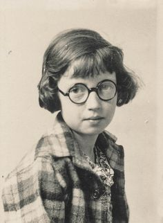 midcenturyblog:Portrait of a school girl with round glasses by simpleinsomnia on Flickr.