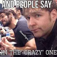 Dean Ambrose Seth Rollins and Roman Reigns