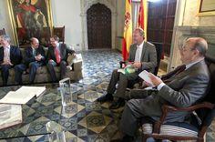 En la recepción de la memoria de 2013 del Consejo Económico y Social (CES)