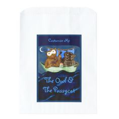The Owl & The Pussycat Favour Bags