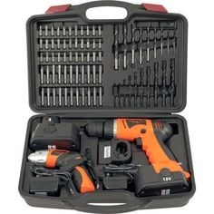 74pc Cordless Drill Driver Tool Set Electric Battery Operated Kit Power  Case  #Combo
