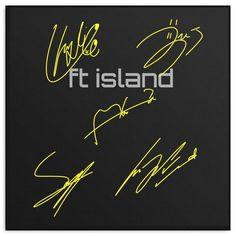 FT ISLAND AUTOGRAPH