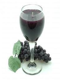 grape candle