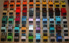 Boss pedal board heaven! - SevenString.org