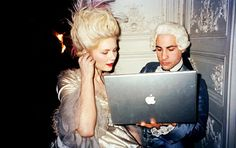 Behind the scenes. Marie Antoinette, 2006