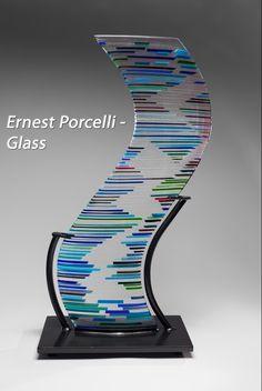 Bethesda Row Arts Festival - Oct. 19 & 20 - Ernest Porcelli - Glass - www.bethesdarowarts.org