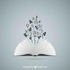 Concepto de educación con libro