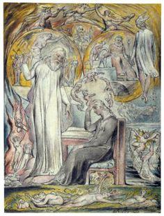 William Blake (1820): The Spirit of Plato