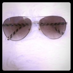 Kate spade sunglasses 100% authentic sun glasses have little scratches on both lenses hard to take a picture of them but shown in picture 3&4 does not come with case kate spade Accessories Sunglasses