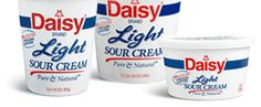 Unless you have a dairy allergy, this is preservative free all natural sour cream!