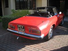 1972 Alfa Romeo 2000 Spider Veloce