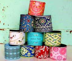 Lookie ... It's Spring at Chick's Picks March 14-17! Just Beautiful! Leather Cuffs.