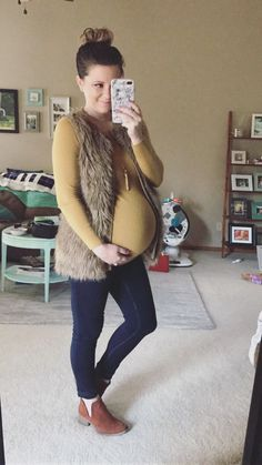Layering maternity pieces with non maternity pieces