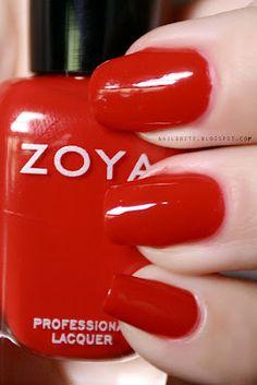 Zoya Sooki #beauty #manicure #nailpolish