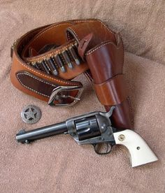 I'll take the pistol chambered in a Magna ported 454 casull. Cowboy Action Shooting, Shooting Guns, Pistol Holster, 1911 Holster, Western Holsters, Lever Action Rifles, Cool Guns, Le Far West, Firearms
