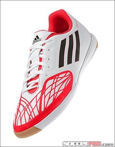 adidas freefootball SpeedTrick Indoor Soccer Shoes - Running White with Black. Nike Soccer Ball, Adidas Soccer Shoes, Soccer Gear, Soccer Boots, Kids Soccer, Football Boots, Soccer Stuff, Soccer Outfits, Soccer Clothes