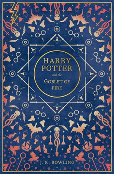 Redesigned book covers for the Harry Potter series by Rachael Lancaster, Book De… Redesigned book covers for the Harry Potter series by Rachael Lancaster, Book Designer and Illustrator, Cambridge, United Kingdom Harry Potter Goblet, Harry Potter Movies, Harry Potter Hogwarts, Best Book Covers, Beautiful Book Covers, Cover Books, Pentacle, Book Cover Design, Book Design