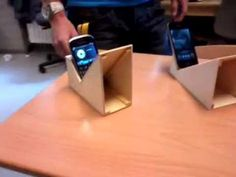Accoustic smart phone speaker.D I Y - YouTube