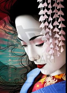 Japanese Notion of Beauty: Geisha Arts; Dance and Music Japanese Geisha study music and dance at a young age which continues th. Art Geisha, Geisha Kunst, Geisha Japan, Kyoto Japan, Japanese Culture, Japanese Art, Traditional Japanese, Japanese Kimono, Japanese Style