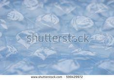 Blue background Air bubble wrap film - Shutterstock Premier