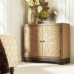Allusion Cabinet | Traditional, An and Brown
