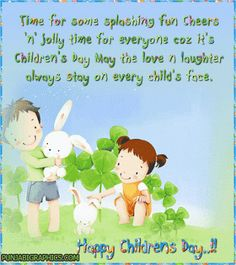 11 Best Happy Children Day Images Happy Children Happy Childrens