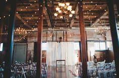 Wedding at the Mckinney Flour Mill