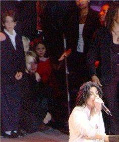 Michael's children Prince et Paris