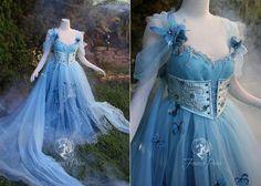 Fairytale Dress, Fairy Dress, Ball Dresses, Ball Gowns, Pretty Dresses, Beautiful Dresses, Fairy Clothes, Fantasy Gowns, Medieval Dress