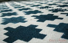 .: DIY Painted Kitchen Rug another one that you paint the rug... like this tutorial