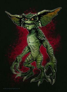 Scary Monsters, Little Monsters, Gremlins, Creature Feature, Creature Design, Iconic Movie Characters, Minions, Movie Co, Horror Artwork