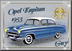 opel kapitan 1953 - Google zoeken