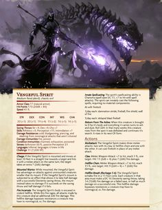 Maybe some innocent npc a player decided to kill for fun? Dungeons And Dragons Classes, Dungeons And Dragons Characters, Dungeons And Dragons Homebrew, Dnd Characters, Mythical Creatures Art, Fantasy Creatures, Dnd Stats, Dnd Dragons, Dnd Races