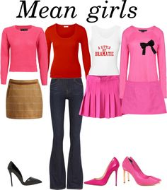 """""""Mean girls Halloween outfit"""" by majalikesfashion on Polyvore"""