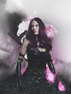 Olivia Munn's Psylocke Gets an X-Men: Apocalypse Poster
