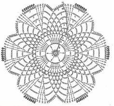 crochet coasters for holiday Mandala Au Crochet, Crochet Doily Diagram, Crochet Motif Patterns, Crochet Doilies, Crochet Flowers, Crochet Sunflower, Crochet Squares, Point Granny Au Crochet, Crochet Circles
