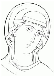 Oblicze Matki Bożej | Karuzela z linkami Catholic Art, Religious Art, Russian Icons, Art Poses, Art Icon, Orthodox Icons, Light Installation, Christian Art, Woman Face
