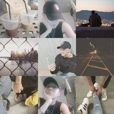 Hoseok BTS moodboard kpop jhope boyfriend