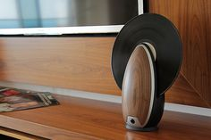 Chic Vertical Record Player Adds Contemporary Functions to Classic Device - My Modern Met