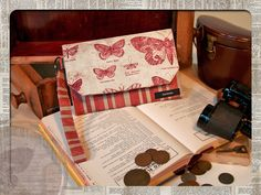 Eclectic Elements by Tim Holtz for Coats - Fabric Wallet