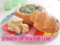 24 of our favourite cob loaf #recipes (including this yummy spinach dip above)