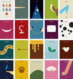 A while ago we did a series of minimalist Disney posters which looked something like this: and you can see the big versions here. Last week we saw the newest pleaser from Disney, Brave, that weR… Disney Movie Posters, Disney Pixar Movies, Disney Toys, Disney And Dreamworks, Disney Art, Disney Villains, Minimalist Graphic Design, Graphic Design Books, Minimalist Poster
