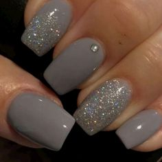 Simple winter nail art designs this season 14 - Nails Design Winter Nail Art, Winter Nails, Winter Art, Nail Ideas For Winter, Autumn Nails, Spring Nails, Gorgeous Nails, Pretty Nails, Gel Nails